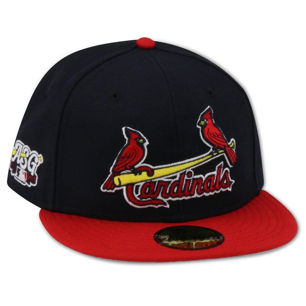 ed9cafaf54d ST. LOUIS CARDINALS 2009 ALL STAR GAME NEW ERA 59FIFTY FITTED GREY BRIM –  4ucaps.com
