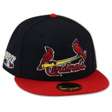 ST. LOUIS CARDINALS 2009 ALL STAR GAME NEW ERA 59FIFTY FITTED