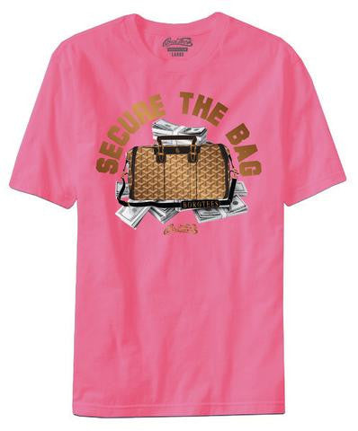 BORO TEES PINK SECURE THE BAG TEE