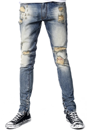 DEADTHANCOOL VINTAGE SELVAGE JEANS