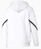 PUMA BMW WHITE MMS HOODED SWEAT JACKET