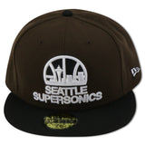 SEATTLE SUPER SONICS NEW ERA 59FIFTY FITTED