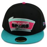 SAN ANTONIO SPURS NEW ERA 59FIFTY FITTED