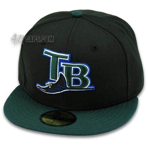 competitive price af8f4 c89b3 TAMPA BAY DEVIL RAYS 2001-2005 ALT NEW ERA 59FIFTY FITTED