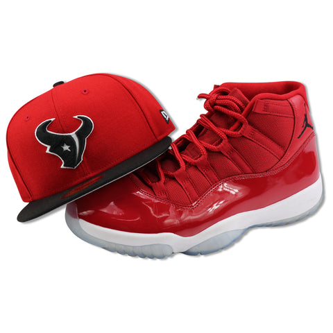 HOUSTON TEXANS NEW ERA 59FIFTY FITTED (AIR JORDAN 11 RETRO WIN LIKE 96)
