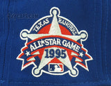 TEXAS RANGERS 1995 ALL STAR GAME ALTERNATE NEW ERA 59FIFTY FITTED PATCH