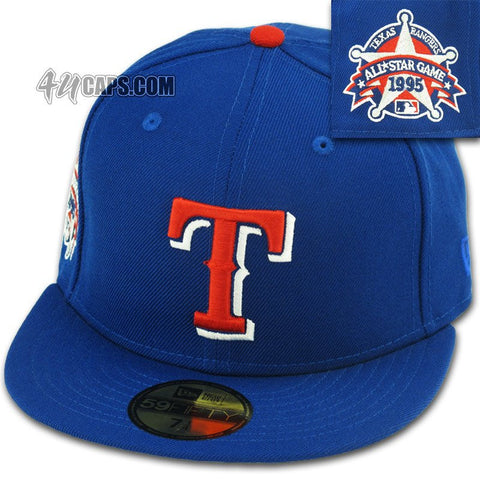 TEXAS RANGERS 1995 ALL STAR GAME ALTERNATE NEW ERA 59FIFTY FITTED