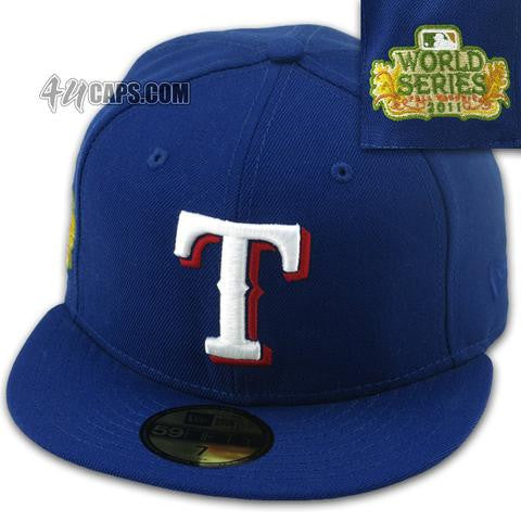 TEXAS RANGERS 2011 WORLD SERIES NEW ERA 59FIFTY FITTED