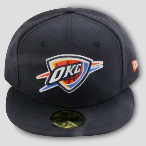 OKLAHOMA CITY THUNDER NEW ERA 59FIFTY FITTED (TEAM COLORS)