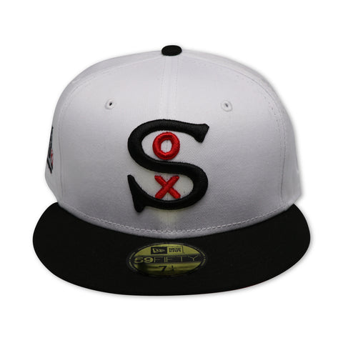CHICAGO WHITESOX (1917 WORLDSERIES) NEW ERA 59FIFTY FITTED (RED BOTTOM)