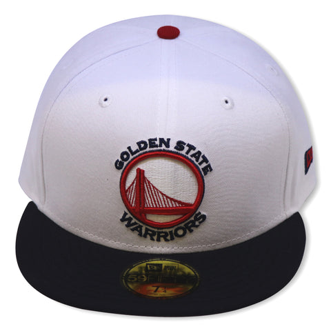 GOLDEN STATE WARRIORS NEW ERA 59FIFTY FITTED (4TH OF JULY COLORS)