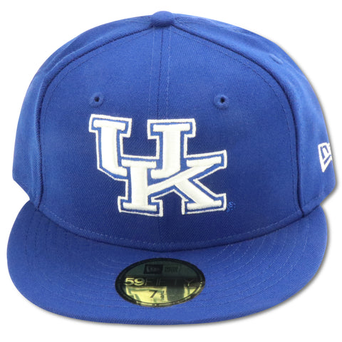KENTUCKY WILDCATS NEW ERA 59FIFTY FITTED (ROYAL FOAMS)