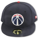 WASHINGTON WIZARDS NEW ERA 59FIFTY FITTED (RED UNDERBRIM)