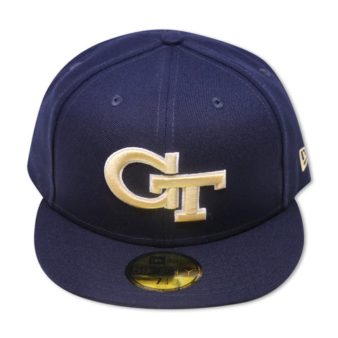 GEORGIA TECH YELLOW JACKETS NEW ERA 59FIFTY FITTED