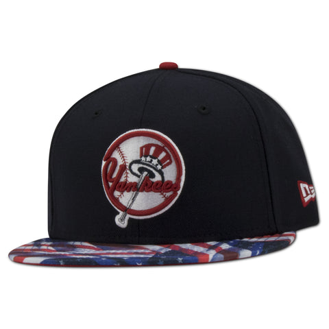 NEW YORK YANKEES 4TH JULY NEW ERA FITTED