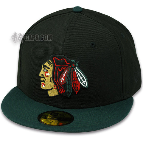 CHICAGO BLACKHAWKS (GUCCI COLORS) NEWERA 59FIFTY FITTED