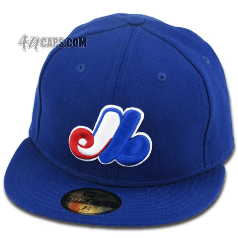 MONTREAL EXPOS NEW ERA 1992-2004 FITTED (GRAY UNDER BRIM)
