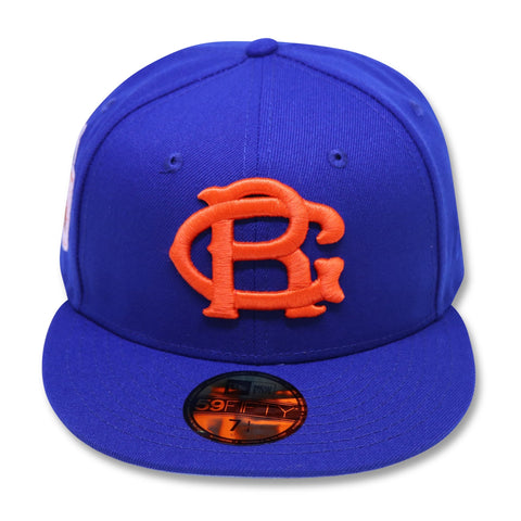 "BROOKLYN ROYAL GIANTS ""100TH ANNIVERSARY NEW ERA 59FIFTY FITTED (SKYBLUE BOTTOM)"