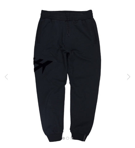 PAPER PLANES LIFT OFF BLACK JOGGERS