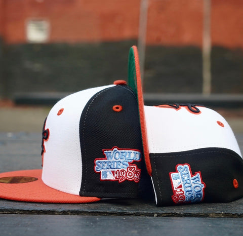 "BALTIMORE ORIOLES ""1983 WORLDSERIES"" NEW ERA 59FIFTY FITTED (GREEN BOTTOM)"