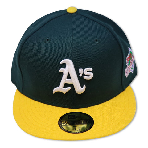 "OAKLAND ATHLETICS ""1989 WORLDSERIES"" NEW ERA 59FIFTY FITTED (GREEN BOTTOM)"