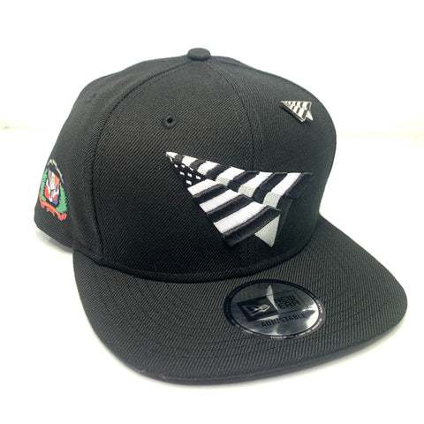 "PAPER PLANES OLD SCHOOL (BLACK) ""D.R CROWN"" NEWERA SNAPBACK"
