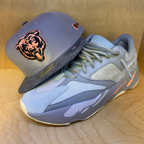 CHICAGO BEARS NEW ERA 59FIFTY FITTED (Yeezy 700 Inertia)
