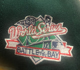 "OAKLAND ATHLETICS ""BATTLE OF THE BAY"" NEW ERA 59FIFTY FITTED (GREEN BOTTOM)"