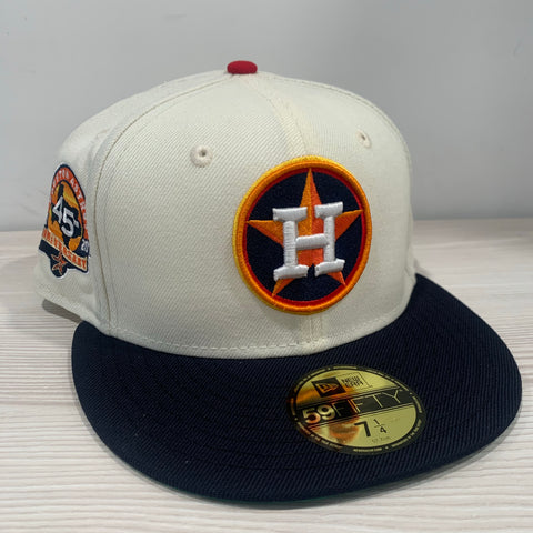 HOUSTON ASTROS (45TH ANN PATCH) NEW ERA 59FIFTY FITTED