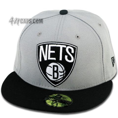 BROOKLYN NETS NEW ERA FITTED TEAM COLORS