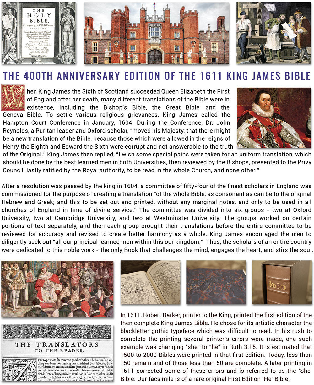 King James Bible - newsletter page 2