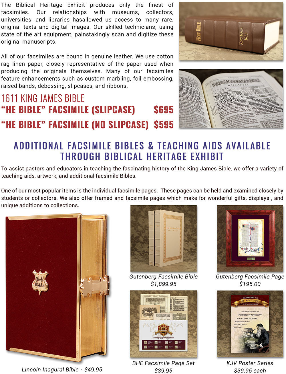 King James Bible - newsletter page 3