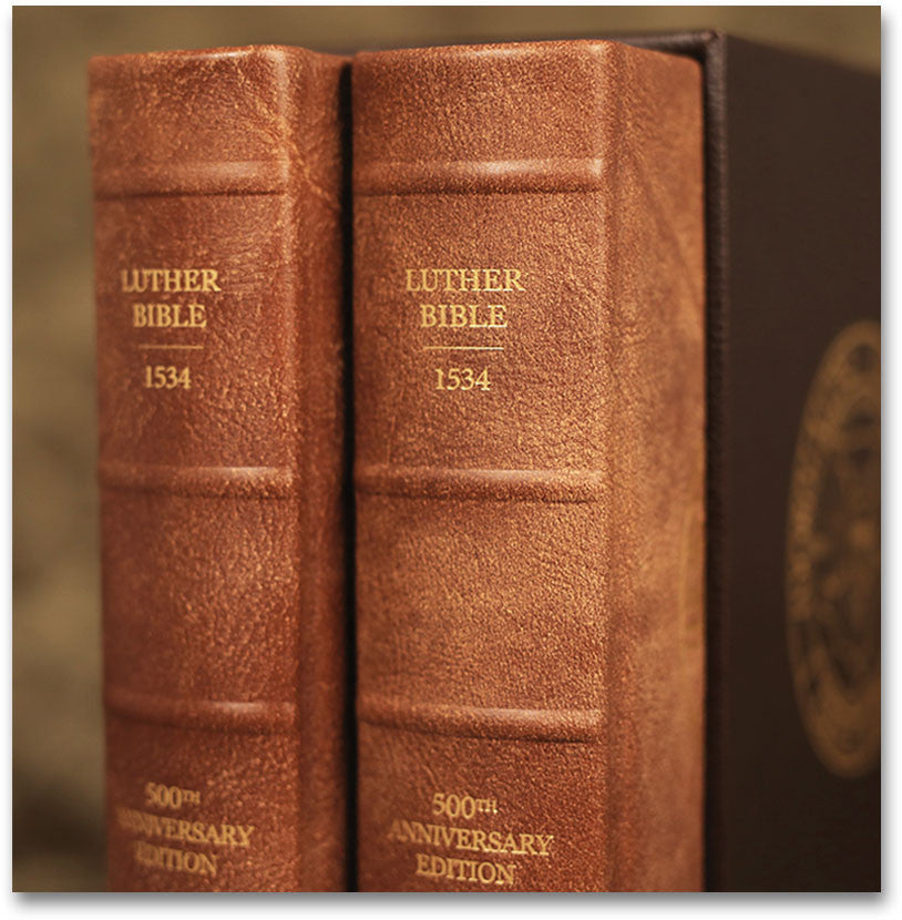 Two Volume Luther Bible