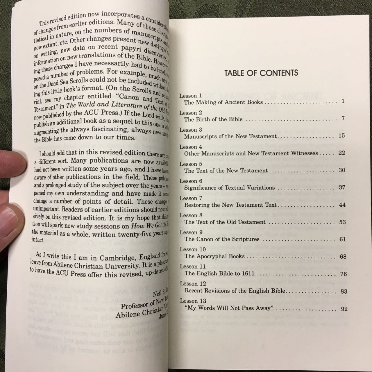 how we got the bible A new book entitled how we got the bible is packed with easy explanations of how the bible made it from the mind of god to the words you read today.