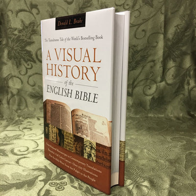 [Out of Print] A Visual History of the English Bible (hardcover)