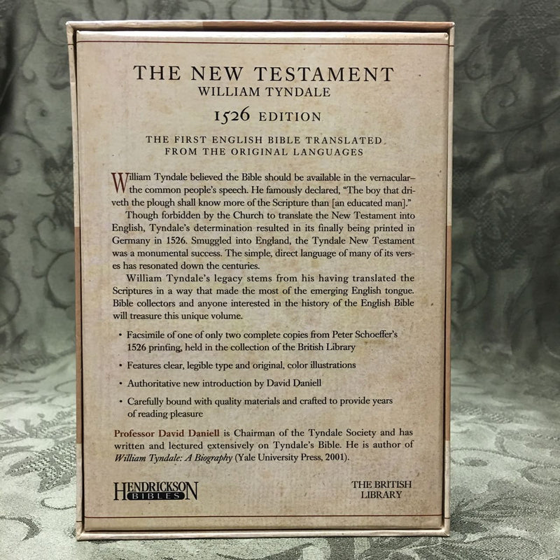 the life of william tyndale and his translation of the christian bible 2017-11-8 william tyndale (1494-1536) dedicated his  to begin work on an english translation of the bible out of the  william tyndale gave his life for the cause of.