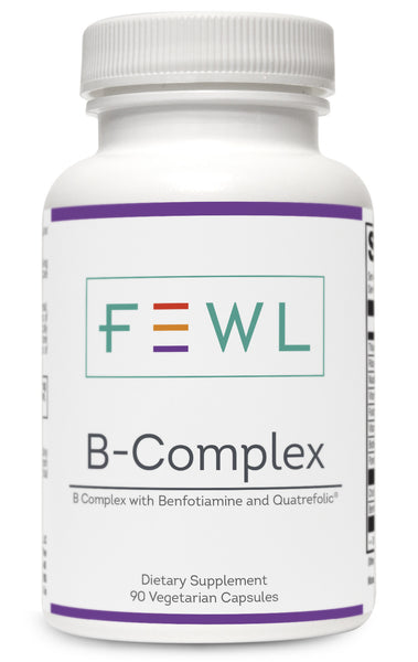 B vitamins for weight loss, detox, anti-aging and energy