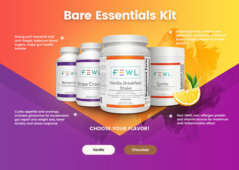 Bare Essentials Weight Loss Kit - Chocolate