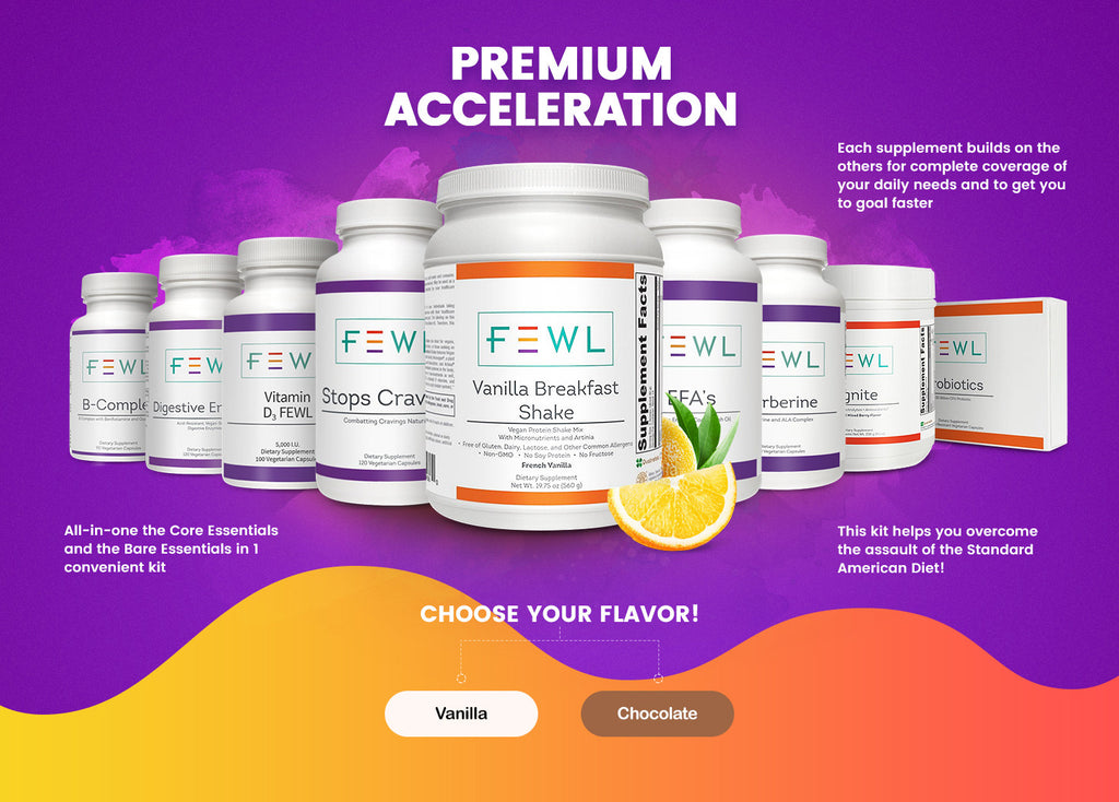 Premium Acceleration Weight Loss Kit Chocolate
