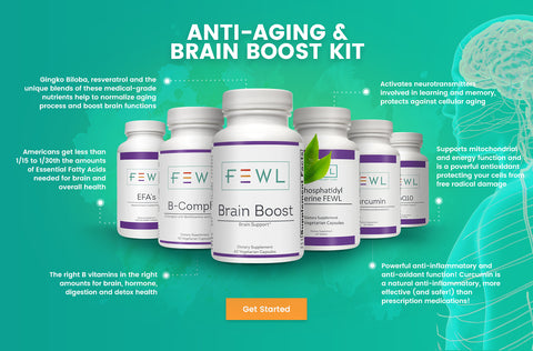 Anti Aging and Brain Boost Kit