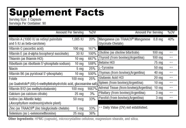 medical grade ingredients 3x more effective than others
