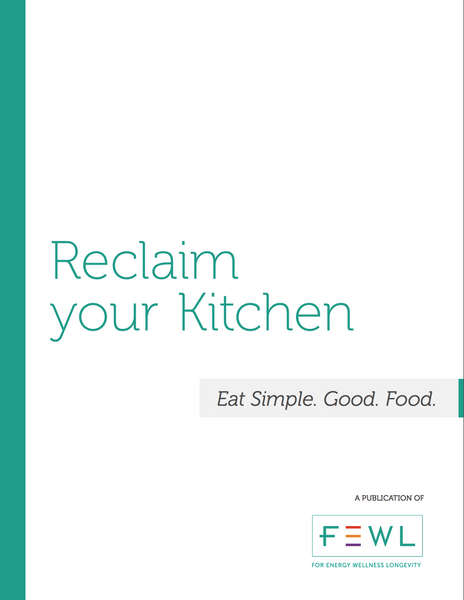 Reclaim Your Kitchen Cookbook