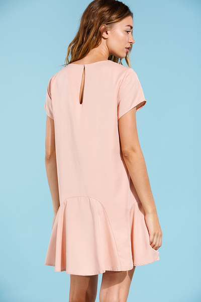 SANDEE DRESS - PEACH