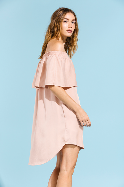 LUKE DRESS - BLUSH