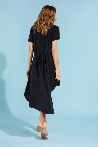 REID DRESS - BLACK