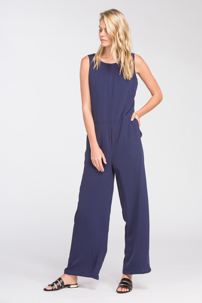 JUNE JUMPSUIT - NAVY
