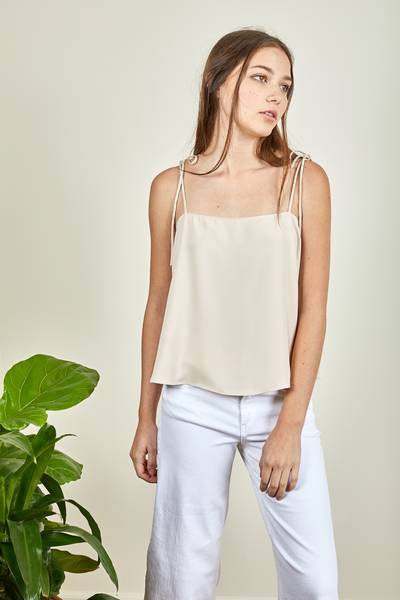 BETHANY TOP - NUDE