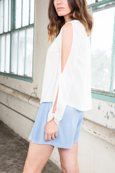 THEA TOP - WHITE