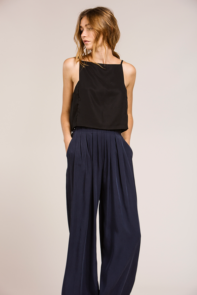 MAISIE PANTS - NAVY