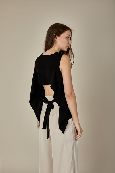 OWEN TOP - BLACK